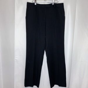 Brooks Brothers Women's High Rise Black Trousers